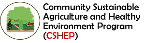 Community Sustainable Agriculture and Healthy Enviroment Program (CSHEP) Logo